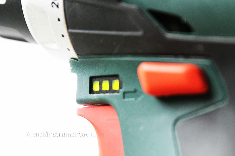 Индикатор заряда батареи